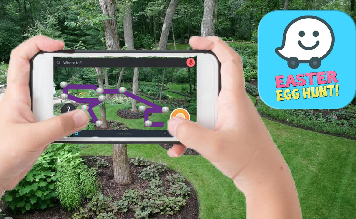 """Waze Releases """"Easter Egg Hunt"""" Edition To Get Quickest Route To Eggs"""