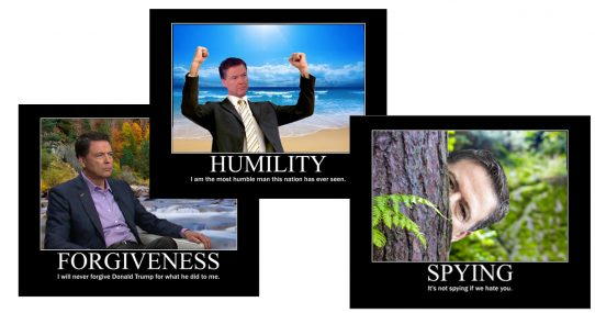 James Comey Releases Series Of Motivational Posters