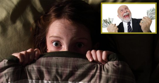 Children Now Fear Rich Not Paying Fair Share More Than Monster Under Bed