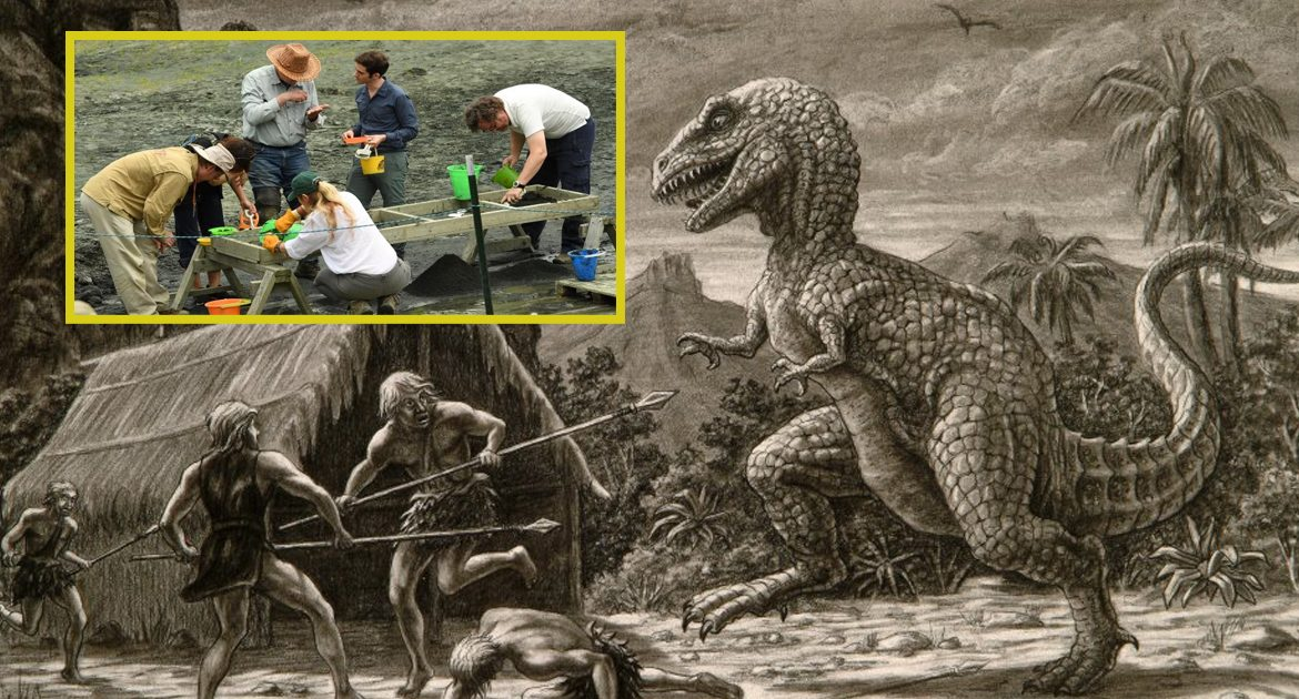 Caveman Used Right To Free Healthcare To Heal After T-Rex Attack, Paleontologist Say