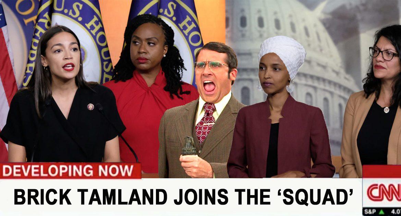 'The Squad' Adds San Diego Weatherman Brick Tamland