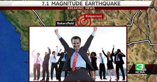California Earthquake Shakes Loose Twelve More Taxes, Lawmakers Rejoice