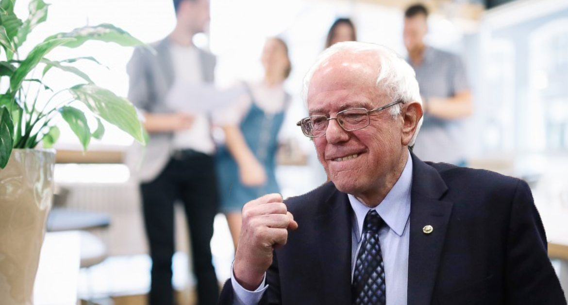 """Sanders, """"If Staffers Donate The Money From Their Raise Back Into Campaign, WE'LL BE RICH!"""""""