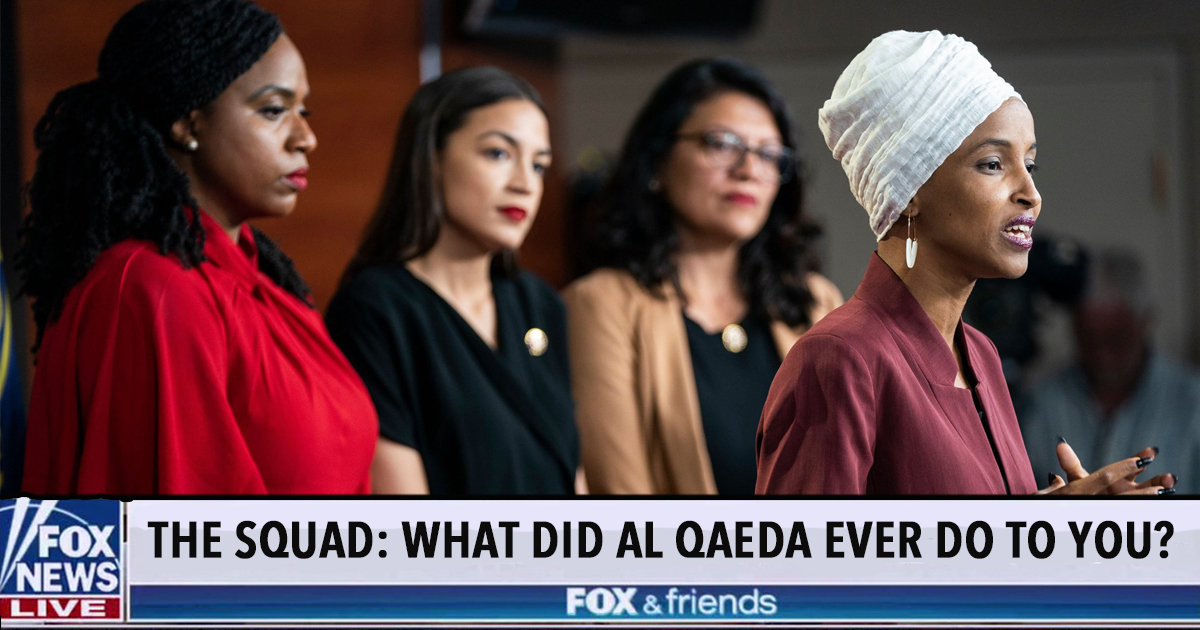 """Ilhan Omar To Americans: """"What Did Al Qaeda Ever Do To You?"""""""