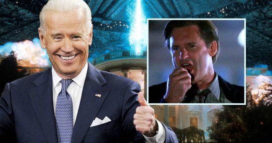 Joe Biden Looking Forward To Plagiarizing Bill Pullman's Speech From Independence Day