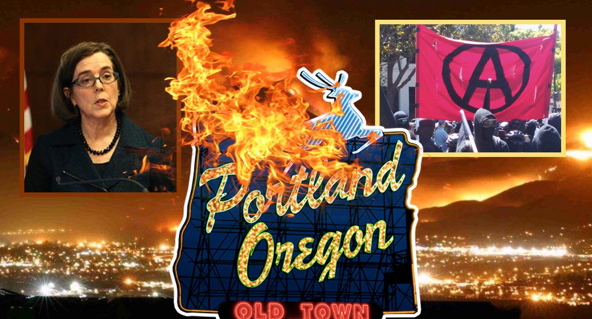 """Portland Gives Antifa An Official """"Warning"""" After Burning Down Whole City"""