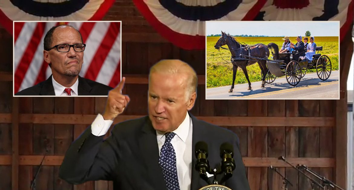 Source: DNC Worried After Biden Tells Crowd 'Amish Are To Blame For USA Losing World War II'