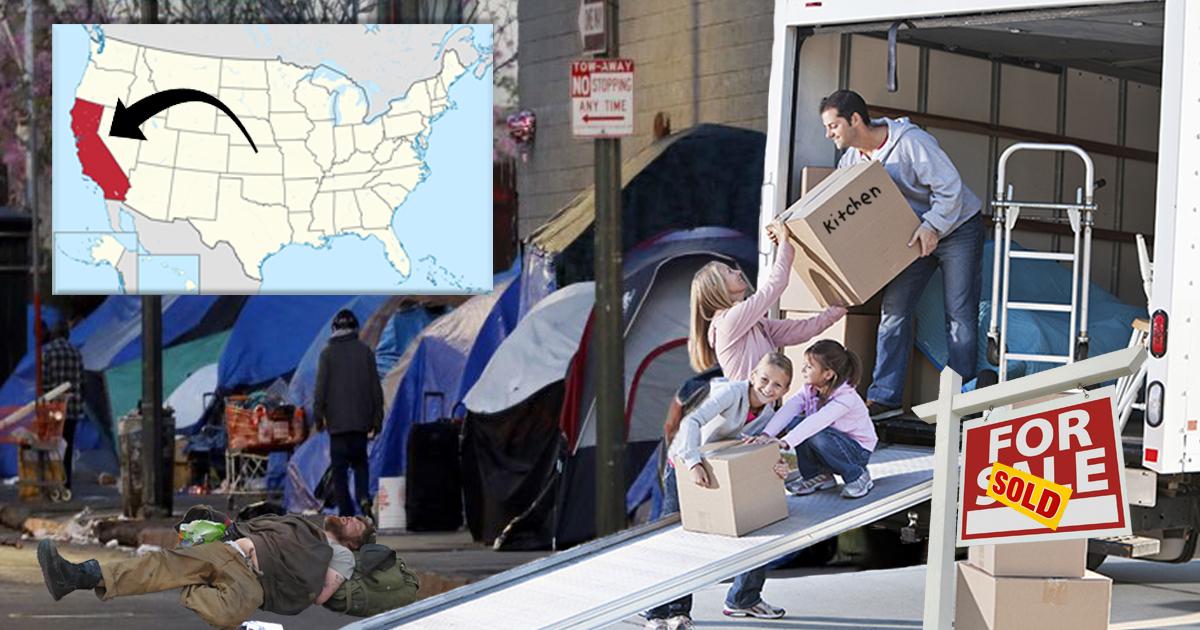 Family Moves To California