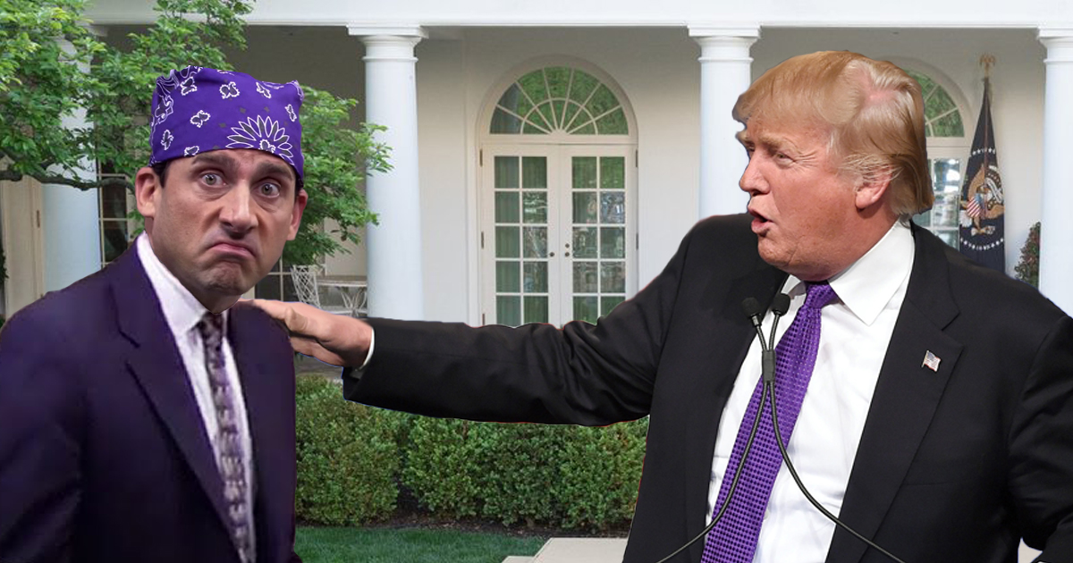 Trump Pardons Prison Mike In Touching White House Ceremony