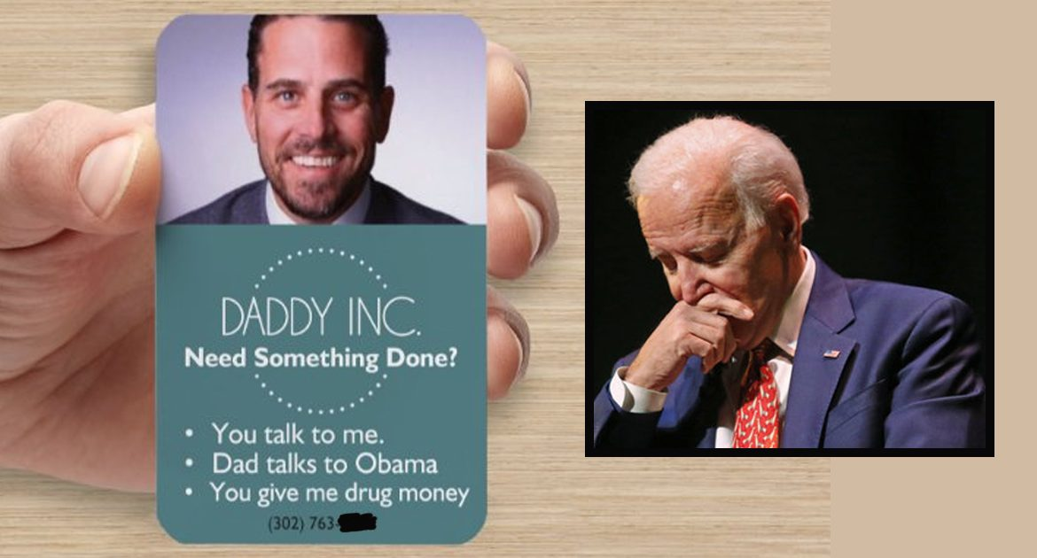 Hunter Biden's Business Card Could Spell Trouble For Father's Campaign