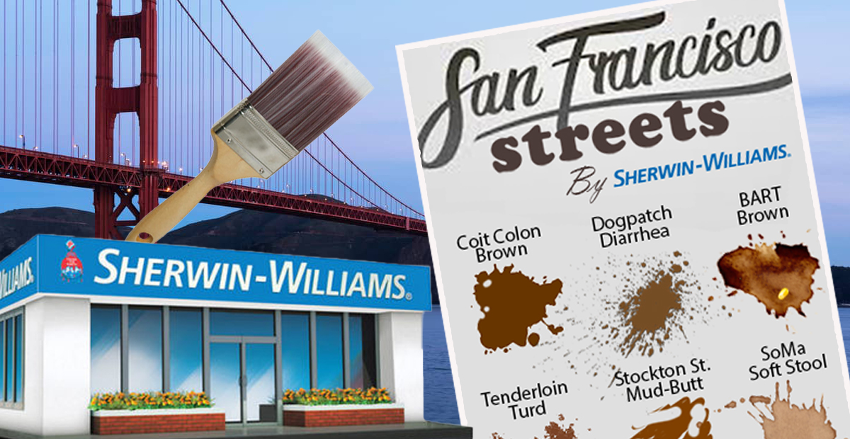 "Sherwin-Williams Releases ""San Francisco Streets"" Color Swatch Series"