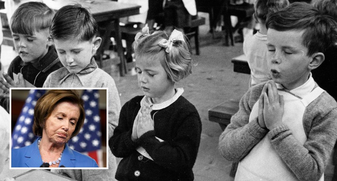 Pelosi to Briefly Allow Prayer Back in Schools Because She is So Saddened and Heartbroken to Impeach