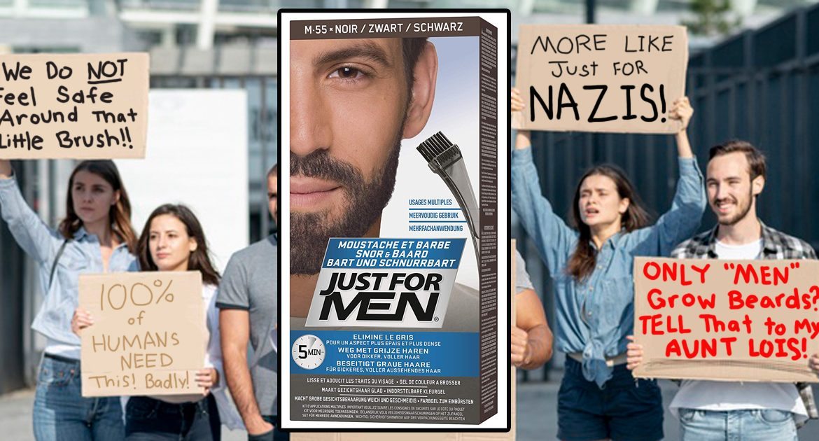 Just For Men Labeled a Hate Group