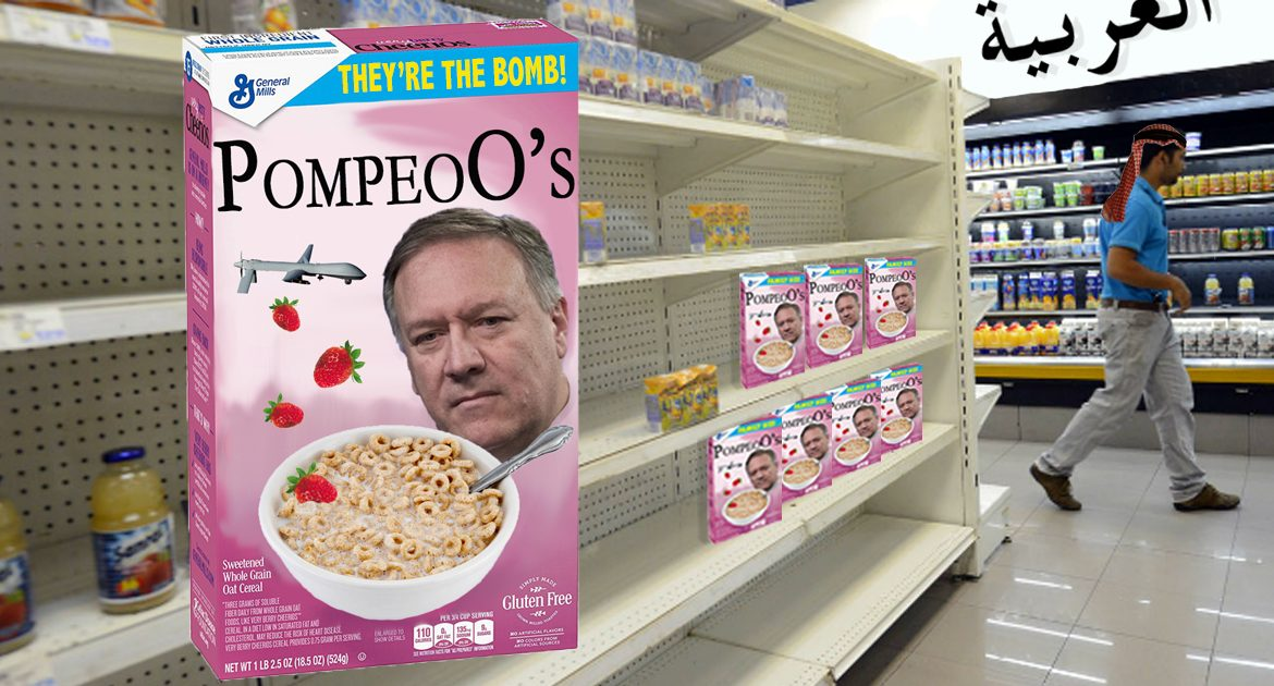 Sales For Mike Pompeo's Cereal Suffer in Iran