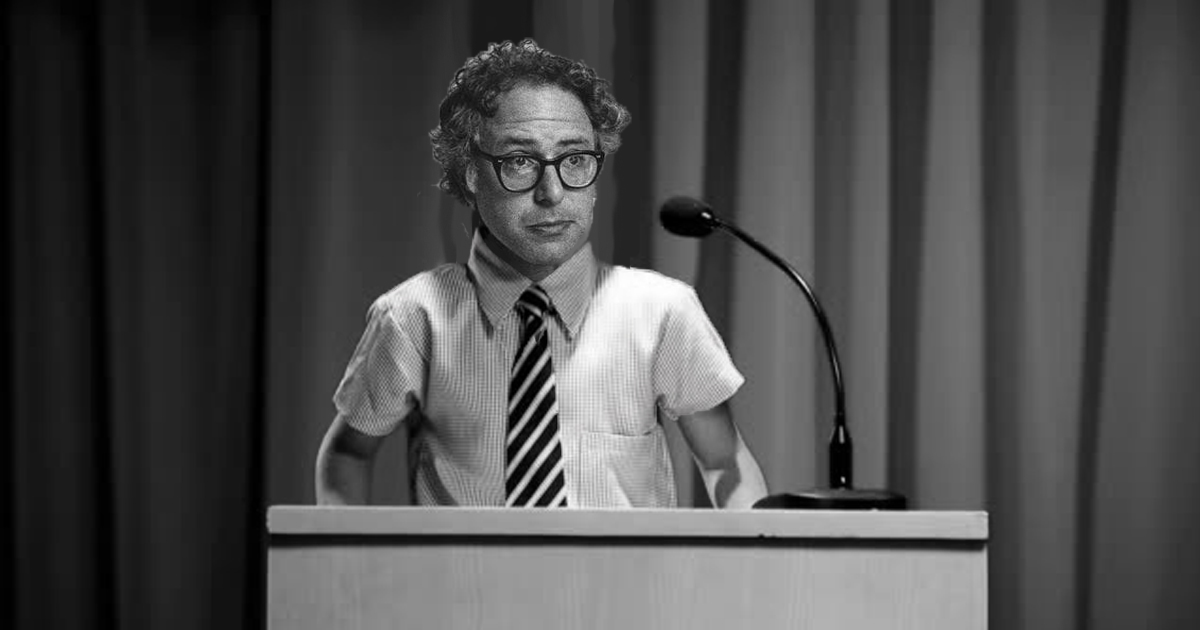 """12-Year-Old Bernie Sanders Once Convinced Kids Cleaning His Room Should be a """"Community Effort"""""""