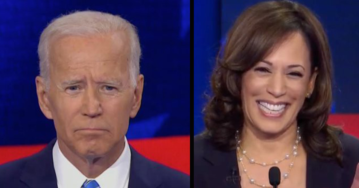 """Harris To Biden """"I Don't Think You're A Racist, But If The Klansman Hood Fits —Amiright, Guys?"""""""