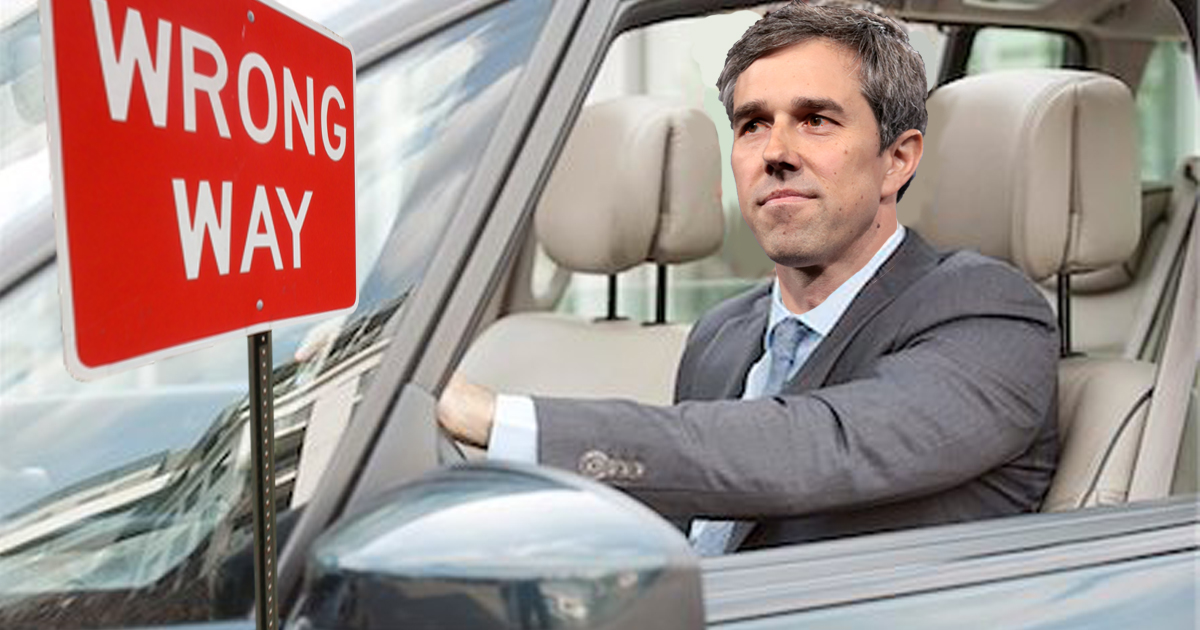 Beto O'Rourke Quits Presidential Run, Returns to Life of Drunk Driving