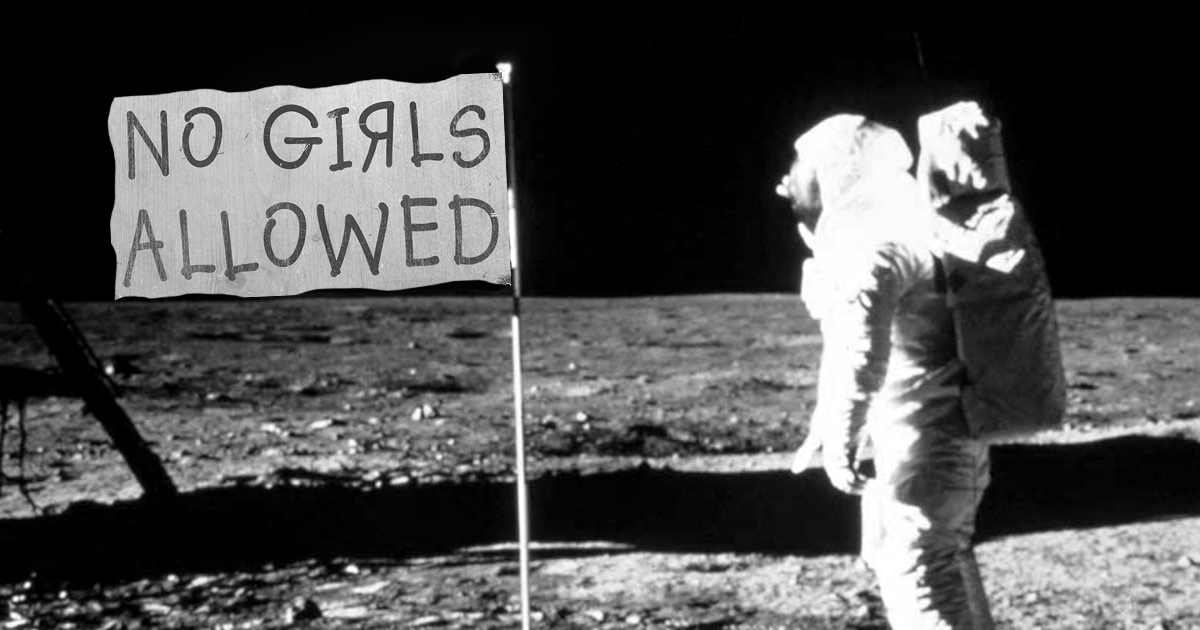 50 Years Later, Feminists Still Angry On Flag On Lunar Surface