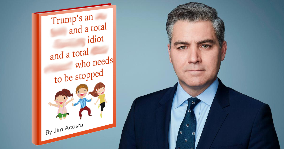 Jim Acosta Children's Book To Hit Shelves Next Week