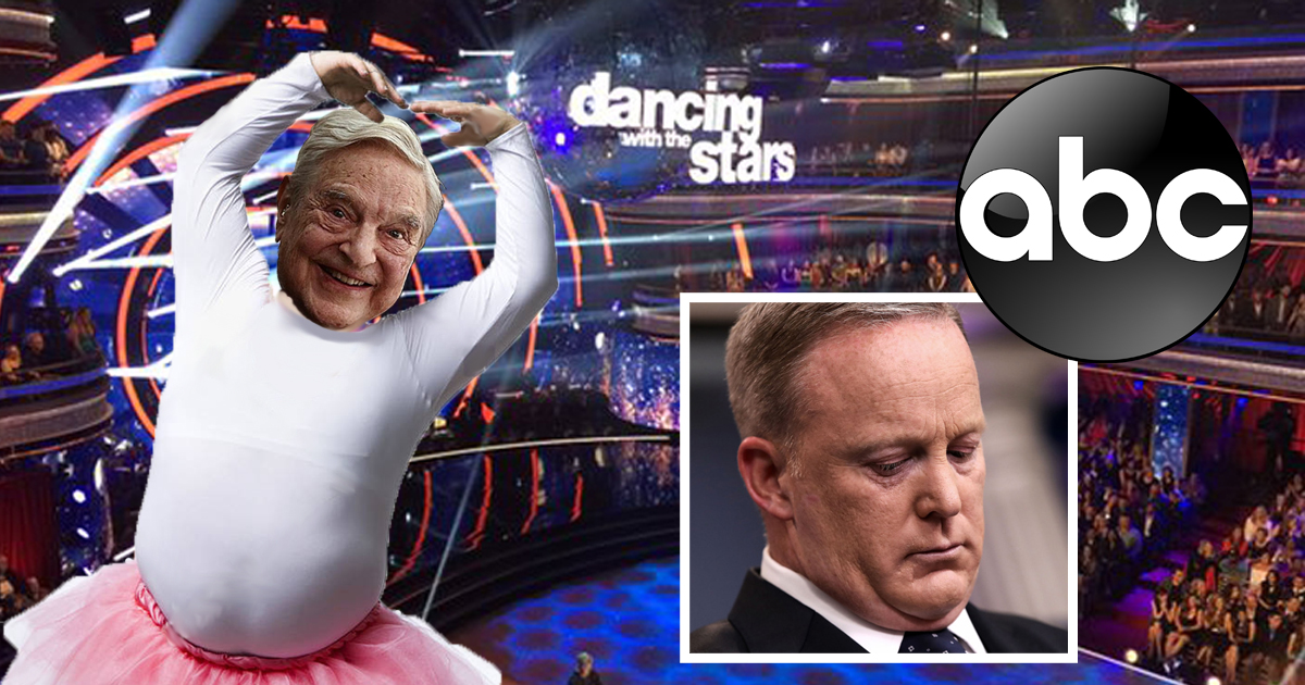 ABC's 'Dancing With The Stars' Dumps Ultra-Political Sean Spicer, Replaces With George Soros