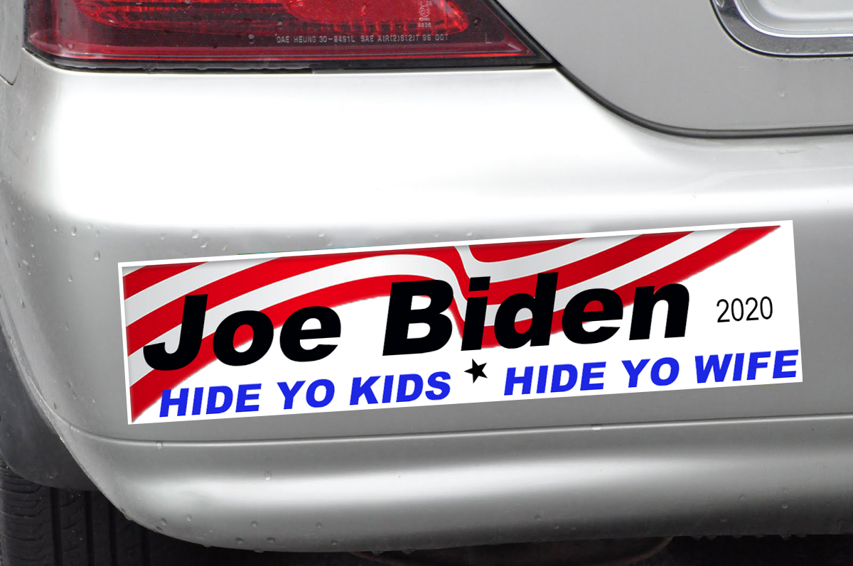 Joe Biden's 2020 Campaign Slogan Draws Criticism