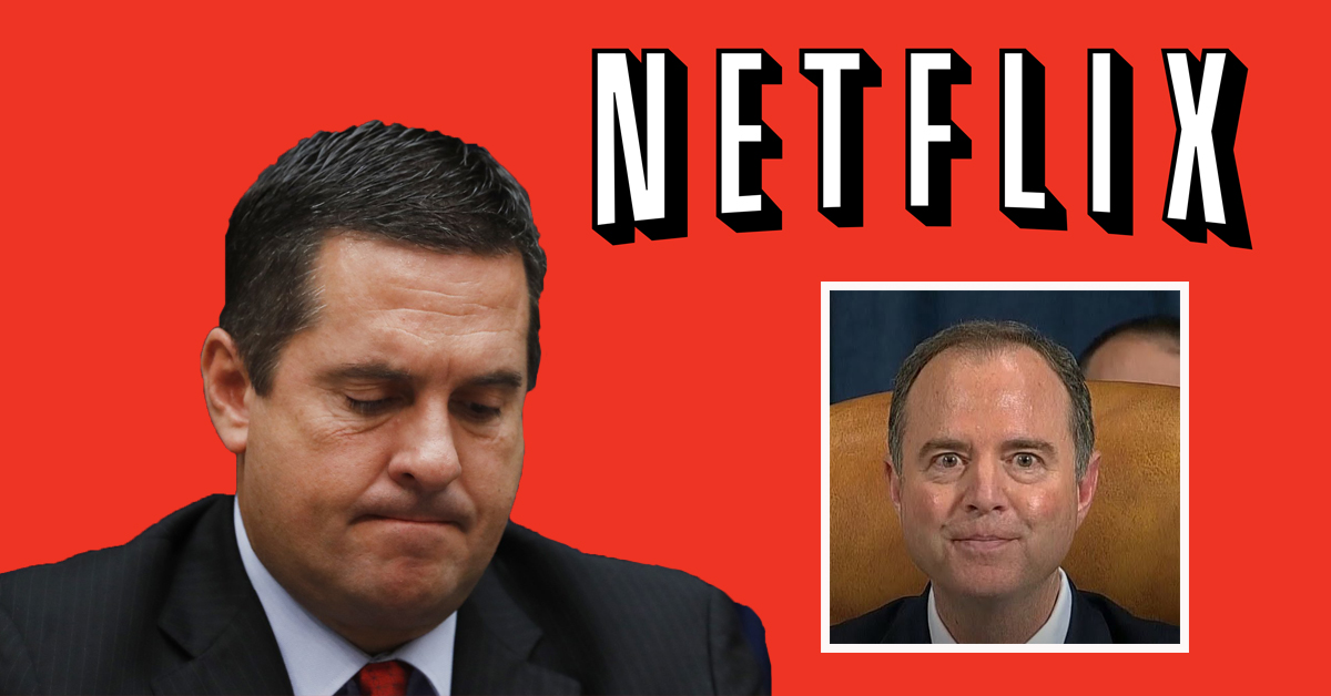 Devin Nunes Looks at Legal Options After Adam Schiff Releases His Netflix Recently Watched History