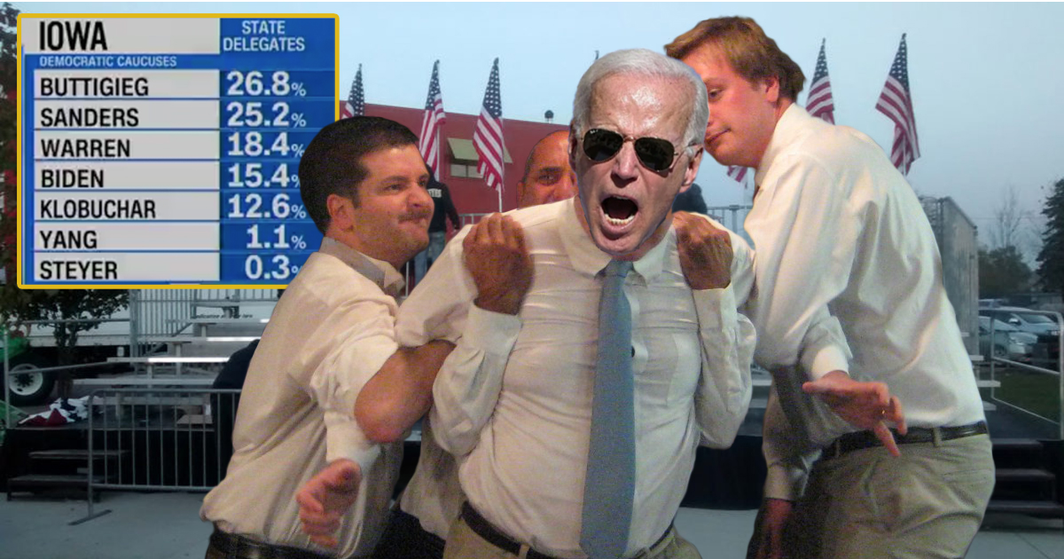"""Joe Biden Rages At DNC: """"You Can Steal My Delegates, But You'll Never Take My Leg Hair!"""""""