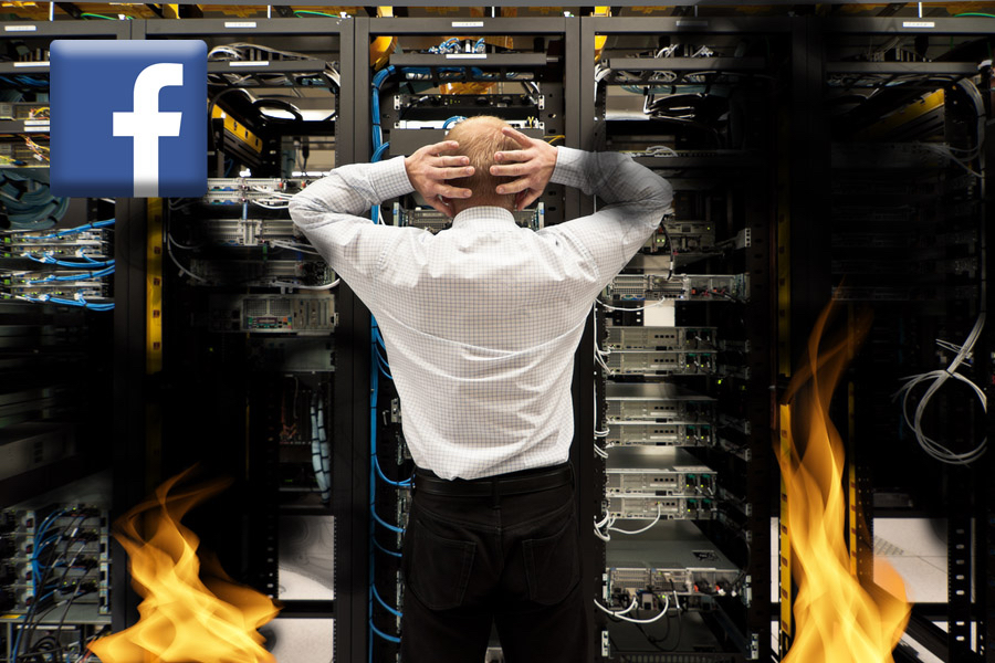 Facebook Servers On Verge Of Collapse Due To Most Elderly People Having Multiple Accounts