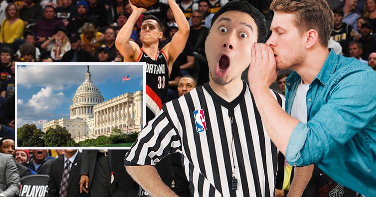 NBA Adopts New Washington Style Whistleblowing Where Fans Report Violations to Referees Via Hearsay