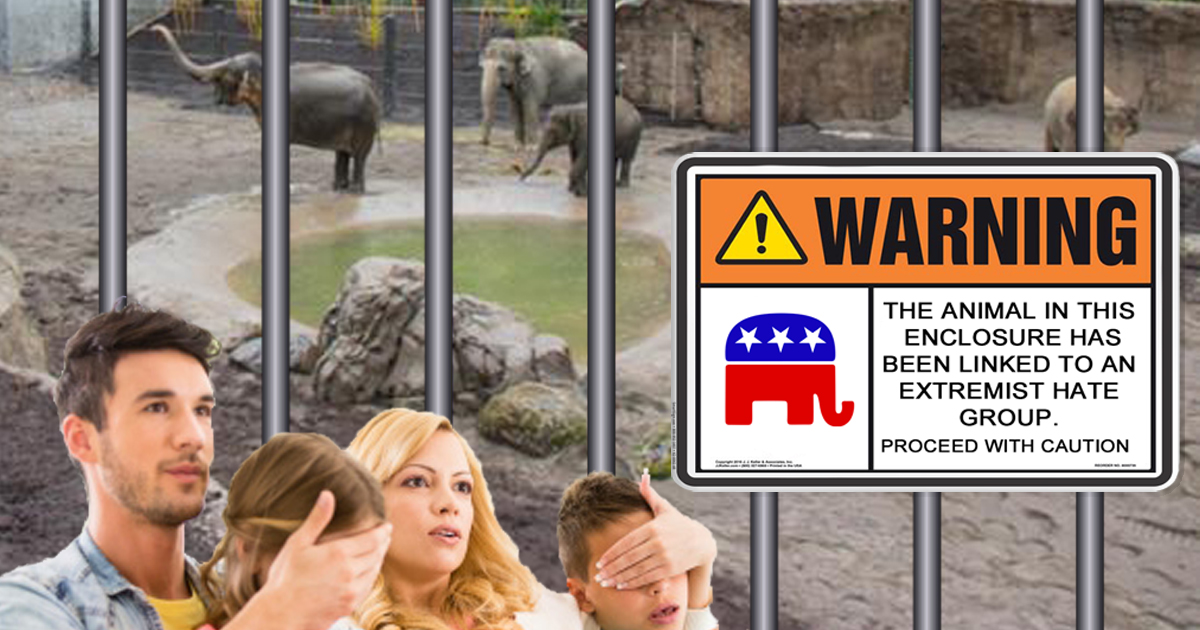 Ridiculous! Portland Zoo Installs Trigger Warning Sign On Elephant Enclosure