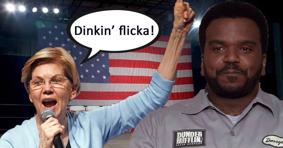 Elizabeth Warren Hires Darryl To Teach Her Black People Phrases