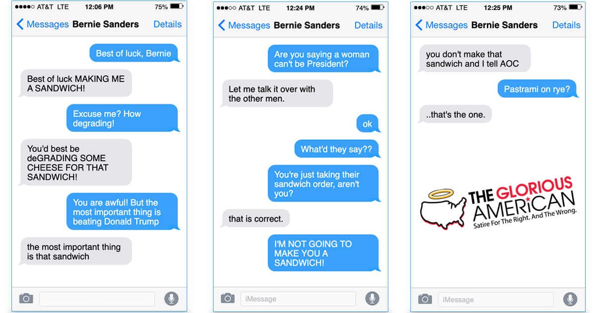 Leaked Text Messages Between Warren and Sanders Show More Signs of Sexism