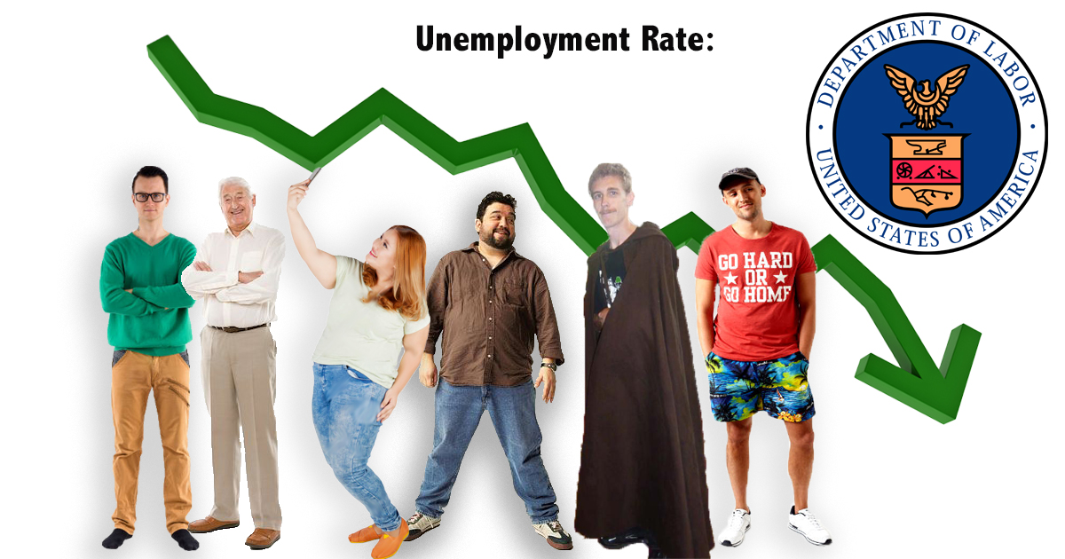 Unemployment Rate So Low, Department Of Labor Just Names The 6 People Not Working