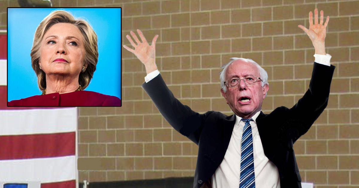 After Hillary Attacks Him, Bernie Sanders DESTROYS Her by Trembling With Fear & Begging for Mercy