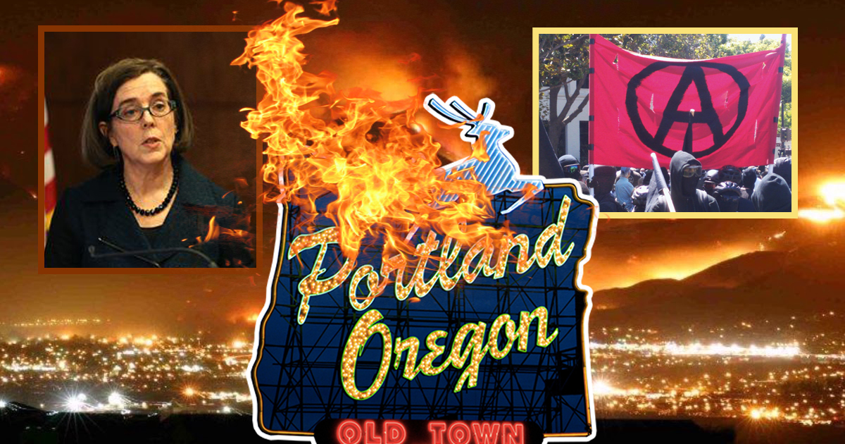 "Portland Gives Antifa An Official ""Warning"" After Burning Down Whole City"