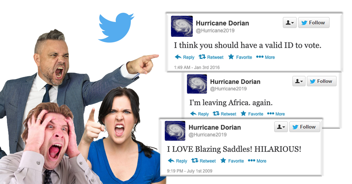 Hurricane's Racist Tweets Surface, Forced To Head Back To Mid-Atlantic