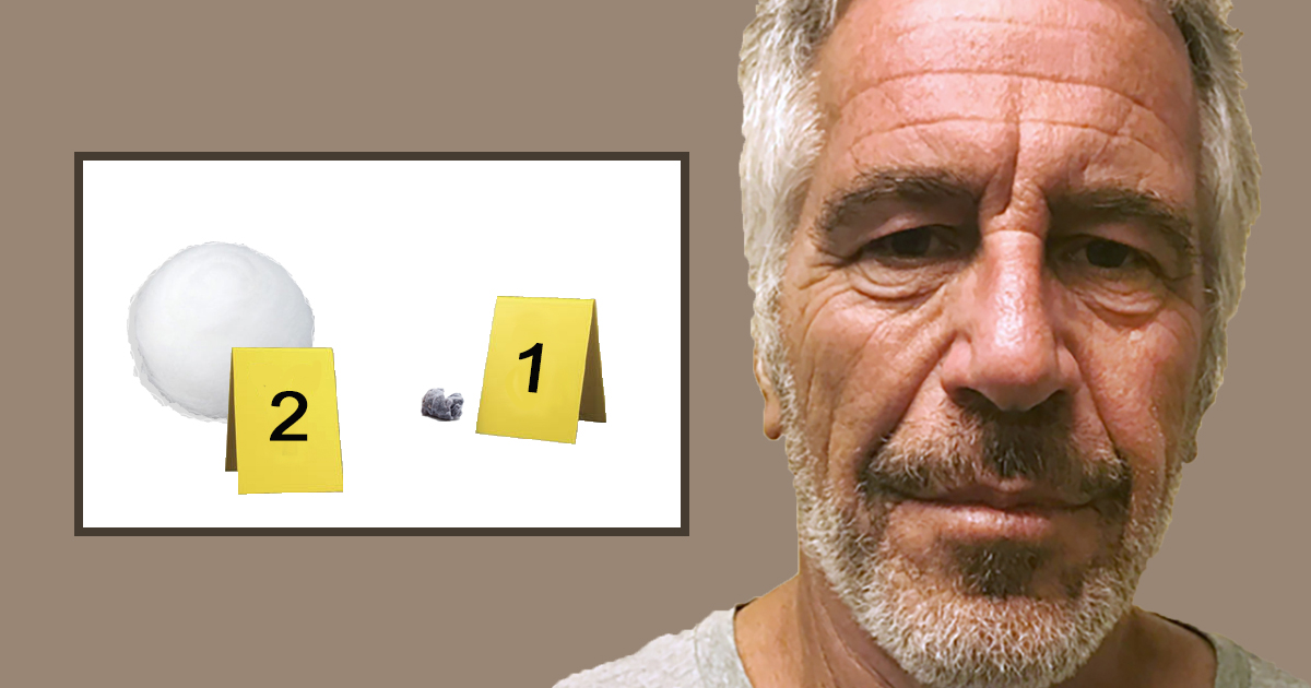 Medical Examiner: Autopsy Clearly Shows Epstein Committed Suicide With Cotton Ball And Piece Of Lint