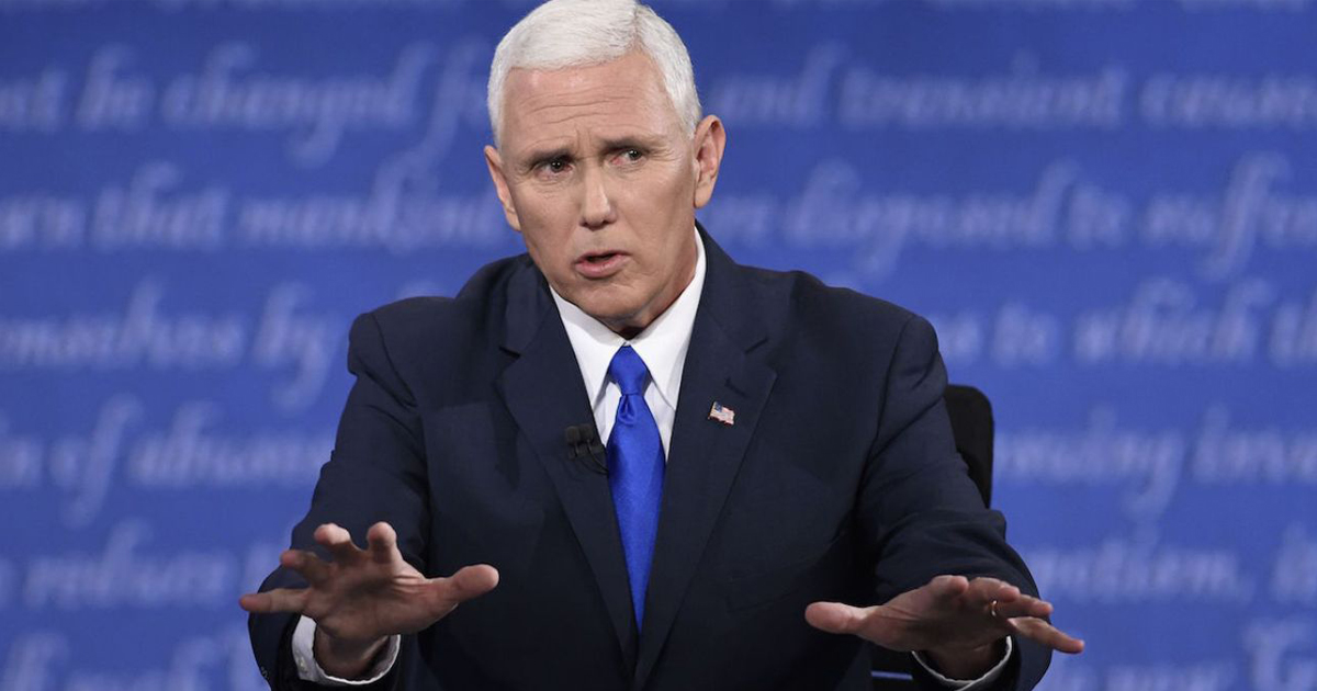 Mike Pence: 'Life Begins At Holding Hands'