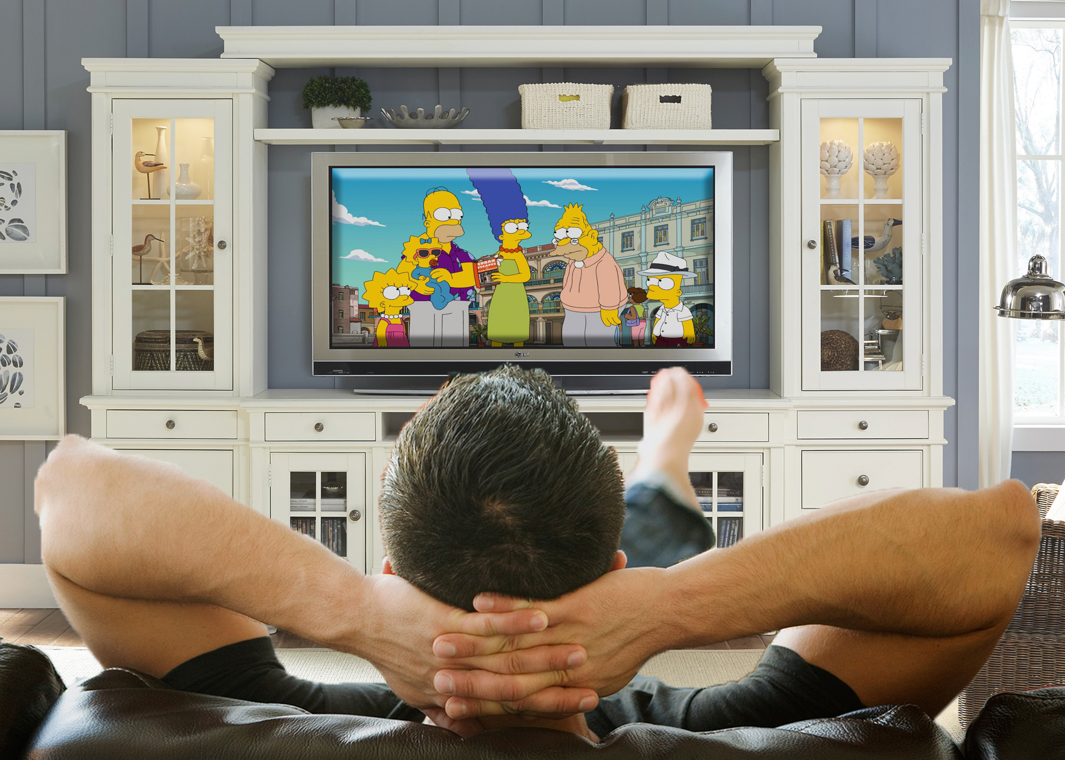 Local Parents Still Don't Know 38-Year-Old Son Has Seen Tons Of Simpson's Episodes