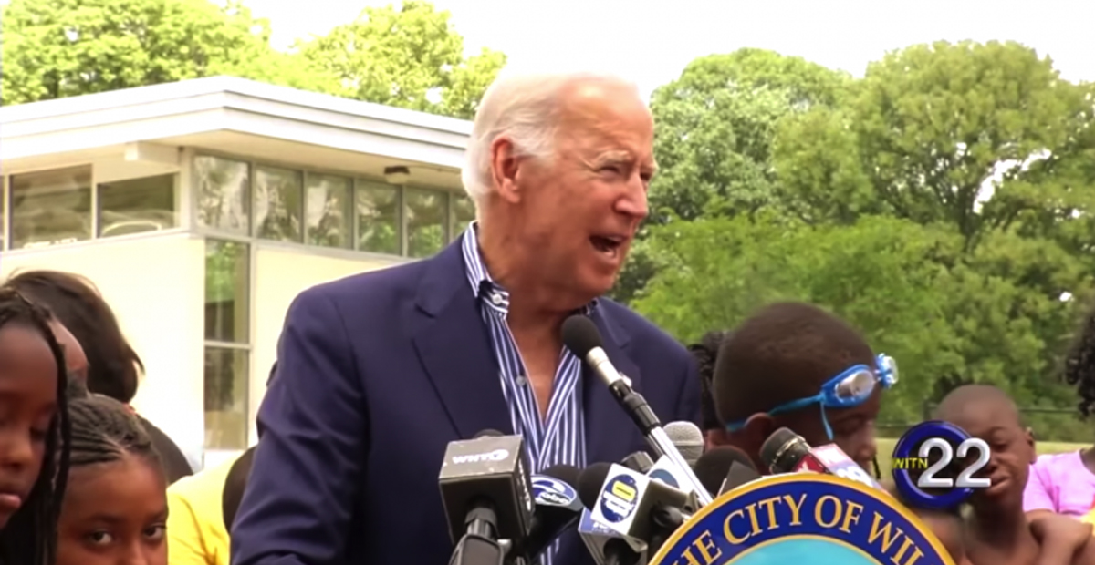 Joe Biden Reassures Dems He's Still Got it by Sharing Story of Young Kids Rubbing His Hairy Legs