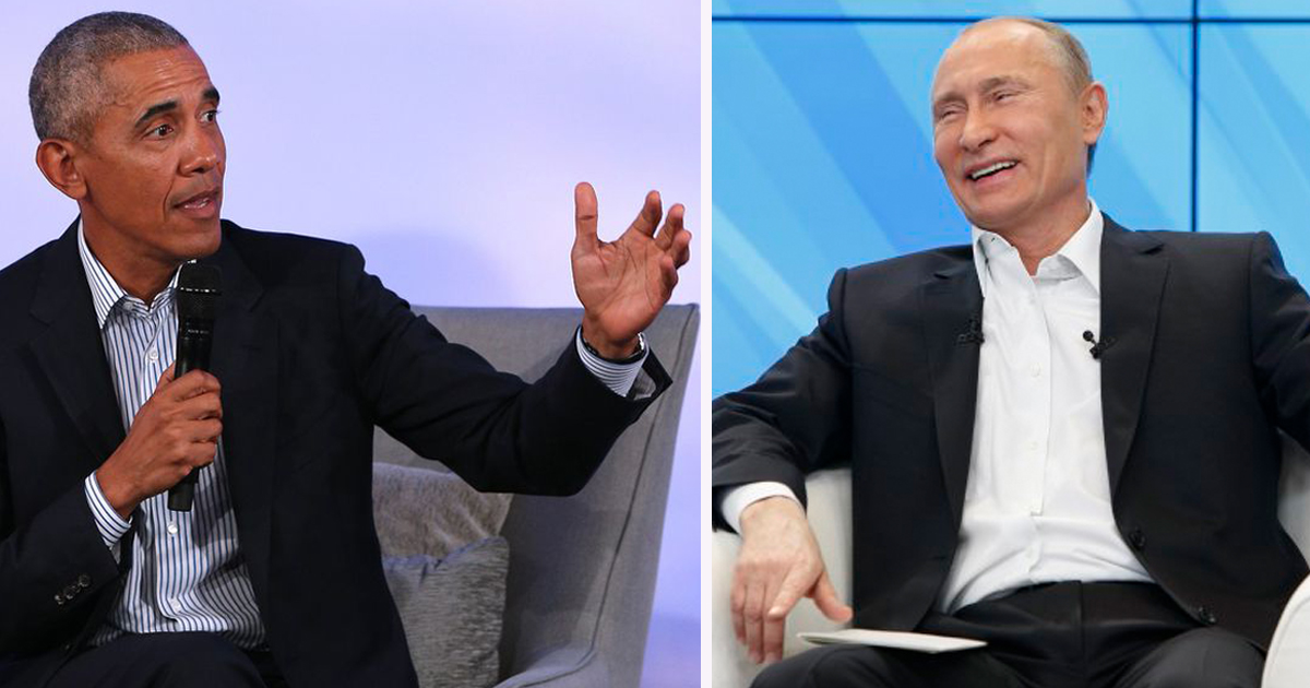 Democrats Disappointed to Learn Obama is Russian Agent After He Challenges 'Woke' Culture