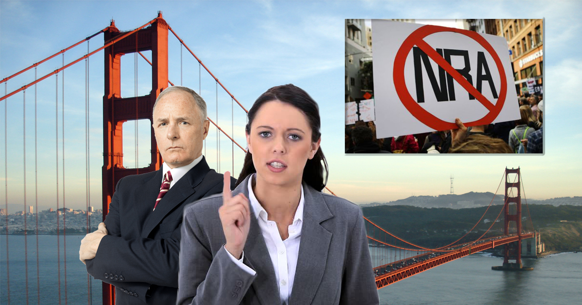 San Francisco Officials To NRA Members 'Why Can't You Guys Be More Like Radical Islam?'
