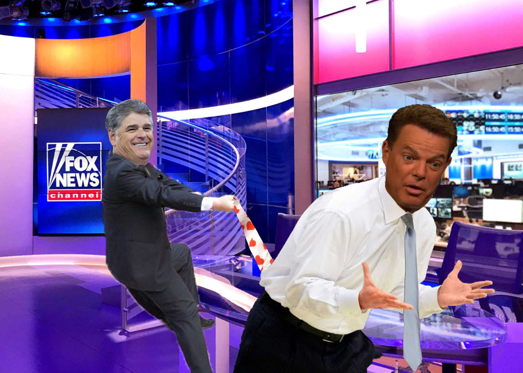 Sean Hannity Delivers Monster Wedgie To Shep Smith
