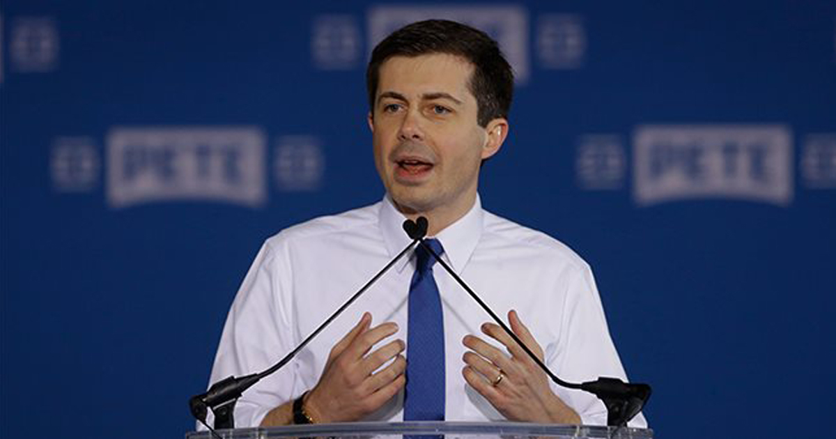 Pete Buttigieg, 'The Bible Tells Us The Best Thing A Christian Can Do Is Become A Homosexual'