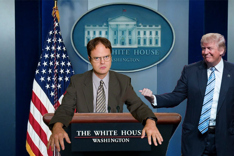 Trump Puts Dwight In Charge Of Healthcare