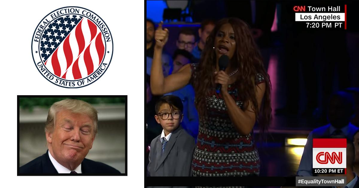 FEC Demands Trump Team Label CNN Equality Town Hall a Campaign Expense