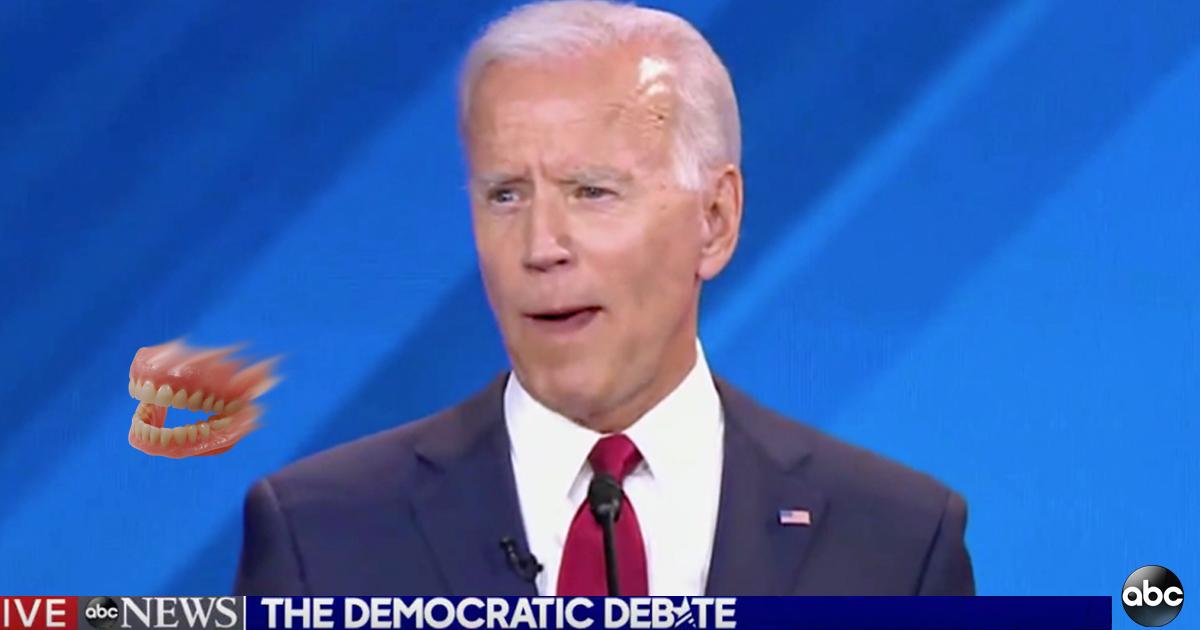 Biden's Teeth Make A Break For It [Video]