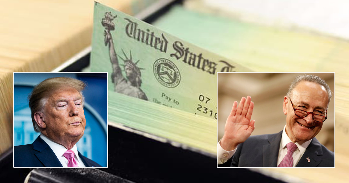 Trump Works Hard To Grant Americans $1,000 Checks, Dems Working Harder To Tax Checks At 65%