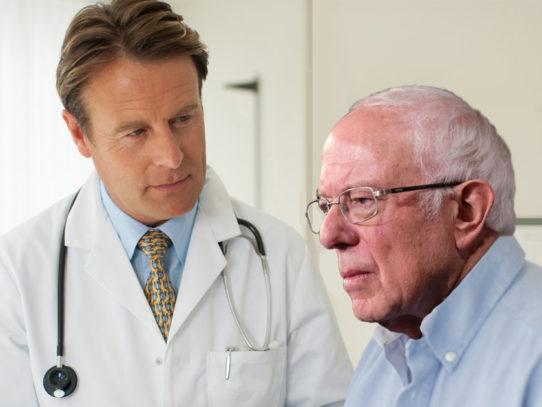 Doctor Confirms Bernie Has Built a Huge Movement, Recommends Fiber