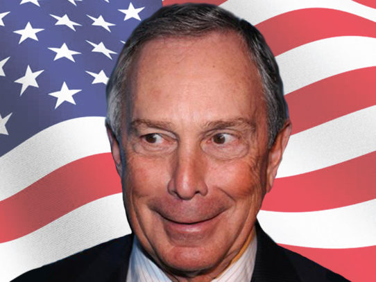 Bloomberg: 'My Staff Tells Me My Smile Alone Can Win 42 States'